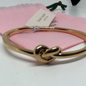 Kate Spade Rose Gold  Love Me Knot Bangle Bracelet